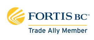 Fortis BC trade ally member logo