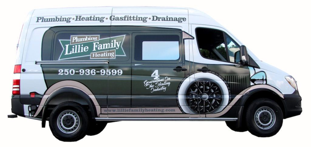 heating company van