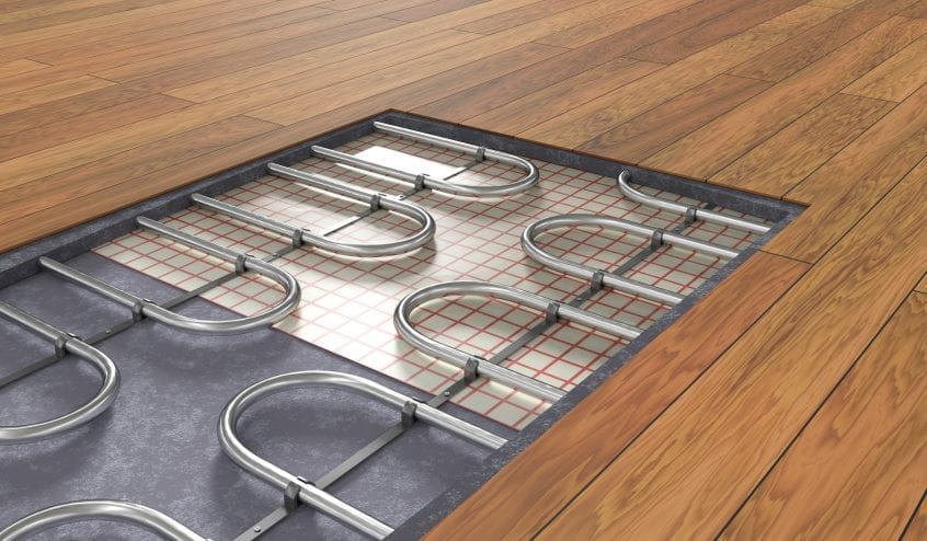 radiant floor heating in canada